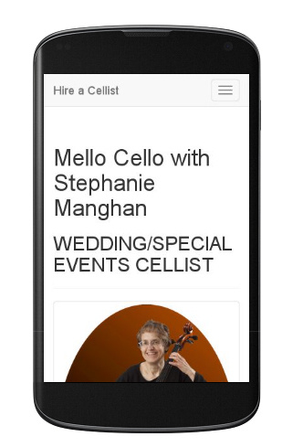 Mello Cello with Stephanie